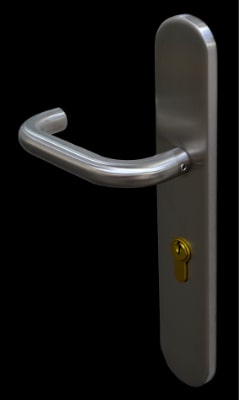 Kirncroft Steel Security Doors Stainless Steel Handle For Security Doors