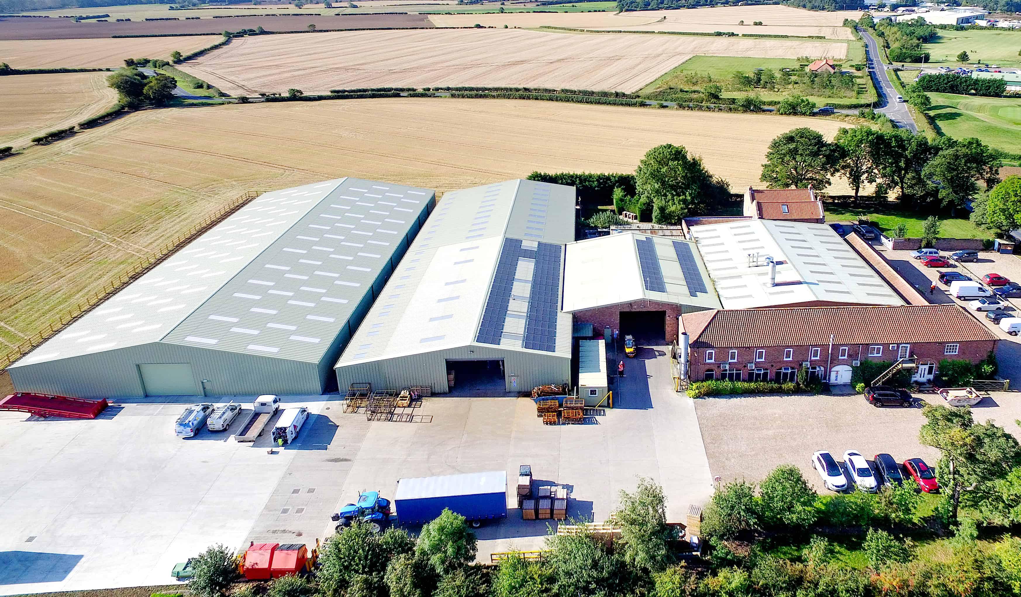 Kirncroft Security Doors UK Factory