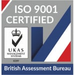 We Have ISO 9001 Accreditation